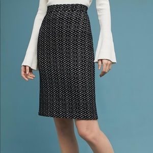 Anthropologie knitted skirt